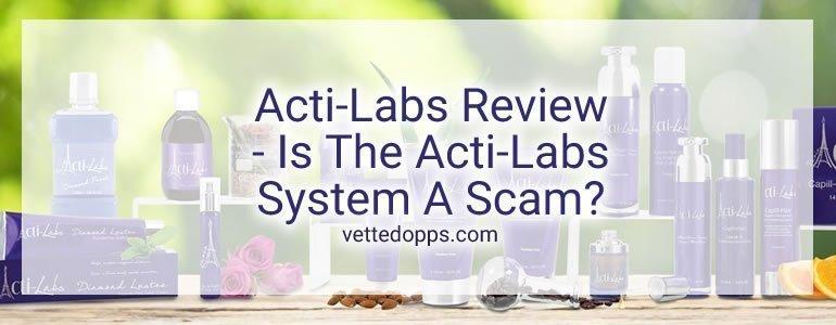 Acti-Labs scam