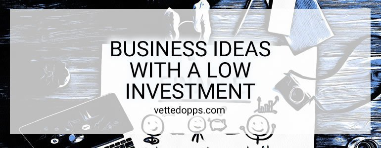 business ideas with a low investment
